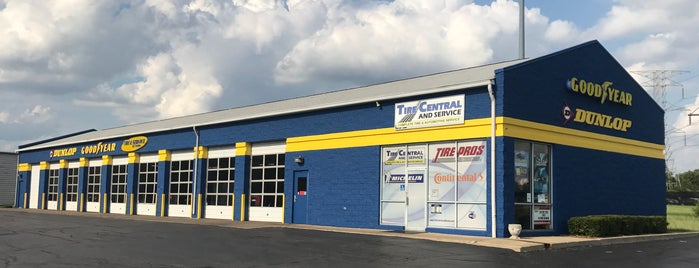Tire Central and Service is one of Favorites.