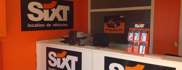 Sixt Chambery Gare is one of Sixt France.