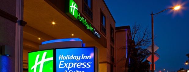 Holiday Inn Express Hereford is one of places I been.