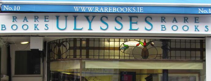 Ulysses Rare Books is one of Dublin.