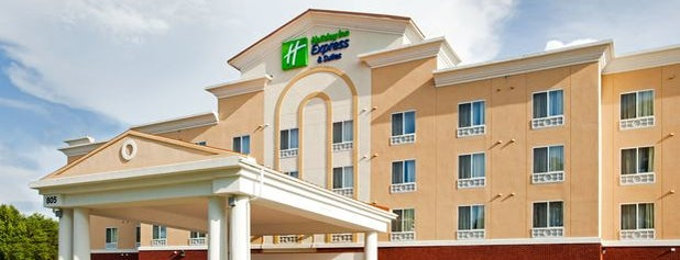 Holiday Inn Express and Suites is one of The 15 Best Hotels in Charlotte.