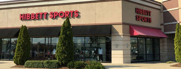 Hibbett Sports is one of What I do.....