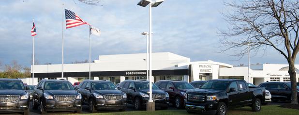 Borcherding Buick GMC is one of Fav list.