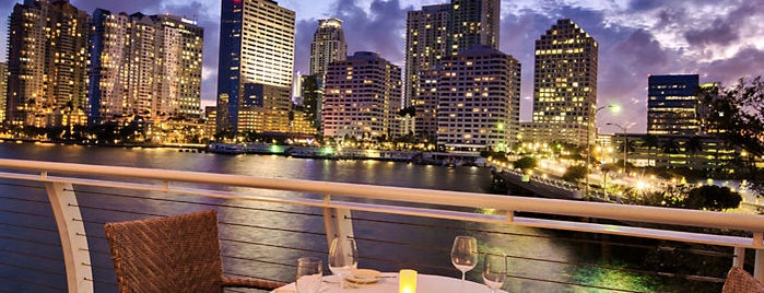 Azul at Mandarin Oriental, Miami is one of Miami Restaurants to Check Out.