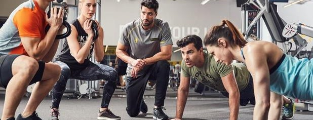 Gold's Gym is one of Get fit spots.