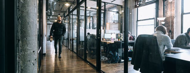 WeWork Soho is one of Startups & Spaces NYC + CA.