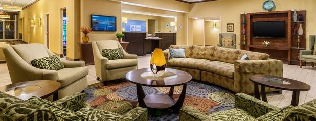 Holiday Inn Express Charleston-Civic Center is one of Layover Hotels.