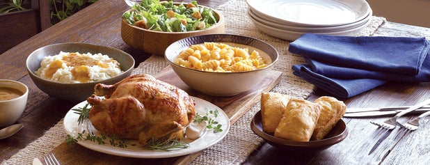Boston Market is one of Common Stops.
