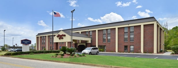 Hampton Greenville Al is one of Places I've stayed.