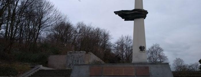 Denkmal des polnischen Soldaten und des deutschen Antifaschisten is one of Grün und Blau Berlin.