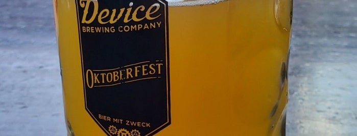 Device Brewing Company is one of Sac.