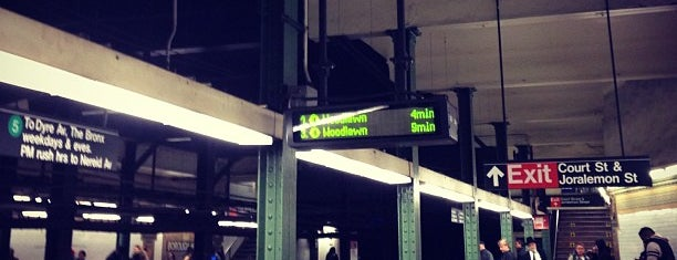 MTA Subway - Borough Hall/Court St (R/2/3/4/5) is one of NYC Subways 4/5/6.