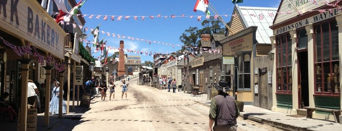 Sovereign Hill is one of Great Family Holiday Attractions Around Australia.