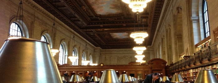 New York Public Library is one of NYC Manhattan 14th-65th Sts & Central Park.