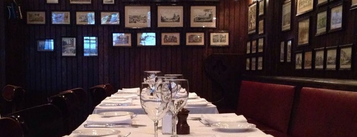 Keens Steakhouse is one of NYC Manhattan 14th-65th Sts & Central Park.