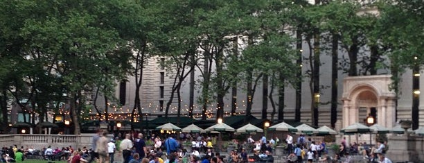 Bryant Park is one of NYC Manhattan 14th-65th Sts & Central Park.