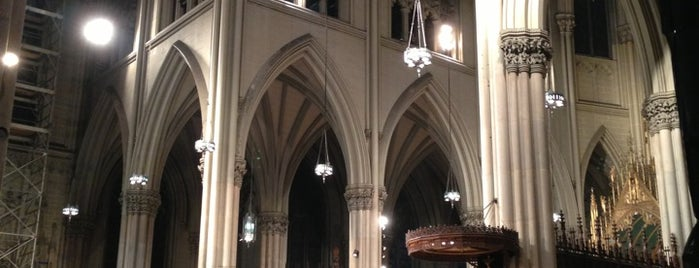 St. Patrick's Cathedral is one of NYC Manhattan 14th-65th Sts & Central Park.