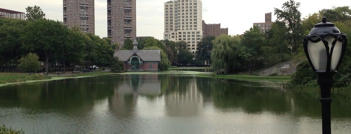 Harlem Meer is one of NYC Manhattan 14th-65th Sts & Central Park.