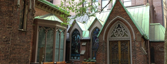 Church of the Transfiguration is one of NYC Manhattan 14th-65th Sts & Central Park.