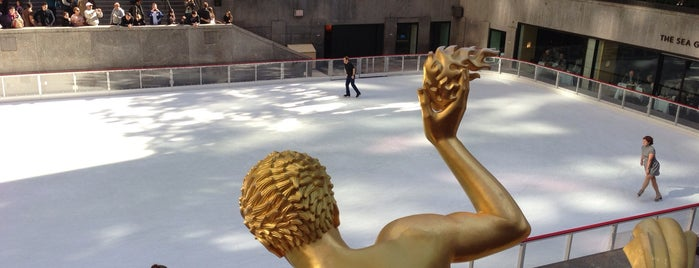 The Rink at Rockefeller Center is one of NYC Manhattan 14th-65th Sts & Central Park.
