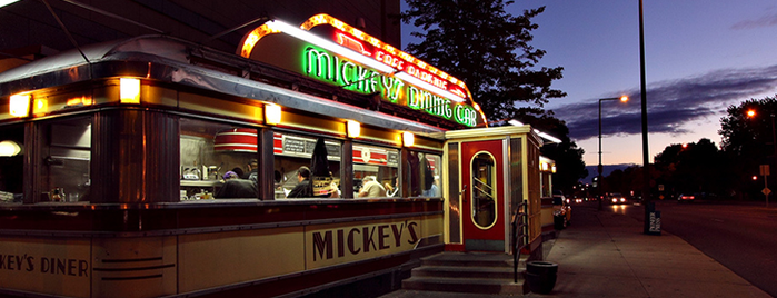Mickey's Diner is one of The 20 Best Diners in America.