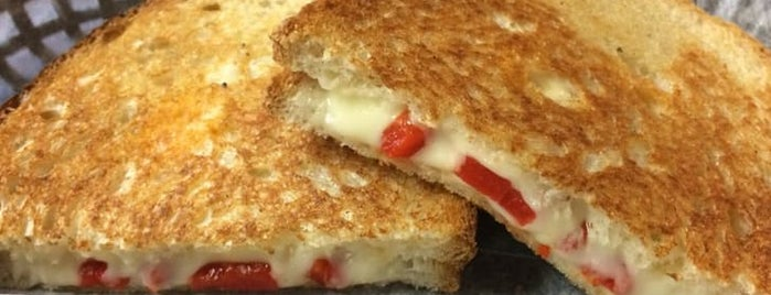 Grilled Cheese at the Melt Factory is one of The Best Grilled Cheese in Every U.S. State.