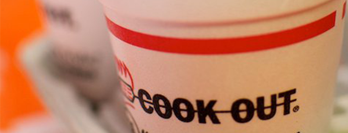 Cook Out is one of The Best Milkshake in Every State.