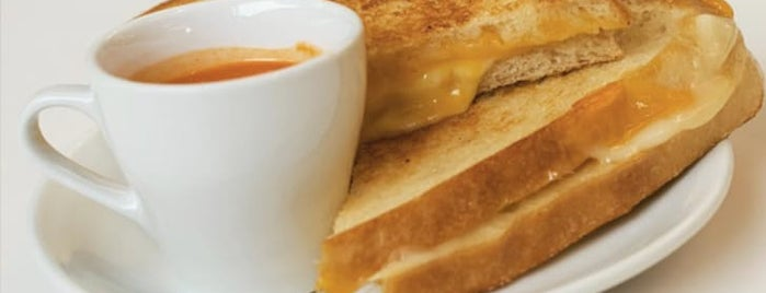 Accelerando Coffee House is one of The Best Grilled Cheese in Every U.S. State.