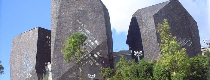 Parque Biblioteca España - Santo Domingo is one of Colombia.