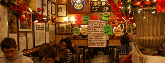 Tom's Restaurant is one of The 20 Best Diners in America.