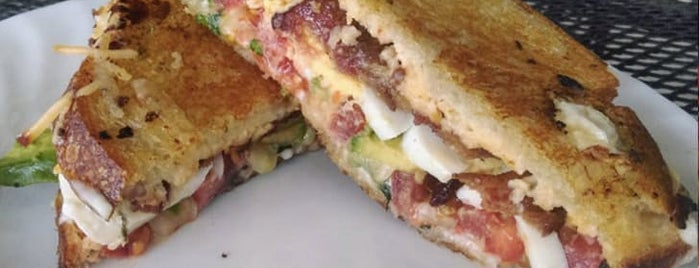 Best Regards Bakery & Café is one of The Best Grilled Cheese in Every U.S. State.