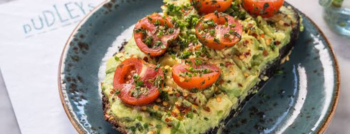 Dudley's is one of The Best Avocado Toast in NYC, Ranked.
