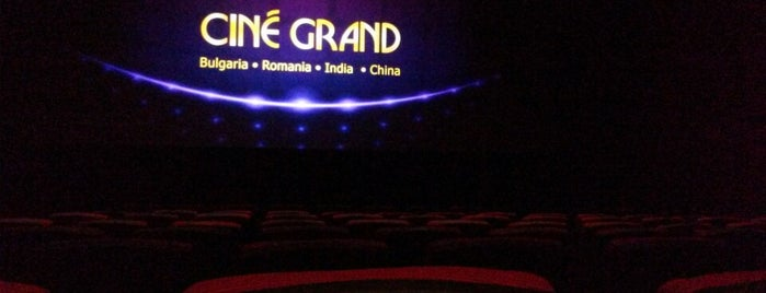 Cine Grand is one of Bulgaria.