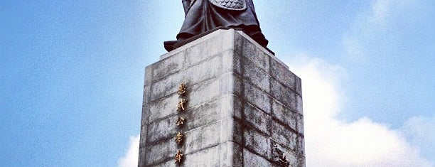 The Statue of Admiral Yi Sunsin is one of Korean Trip (someday :D).