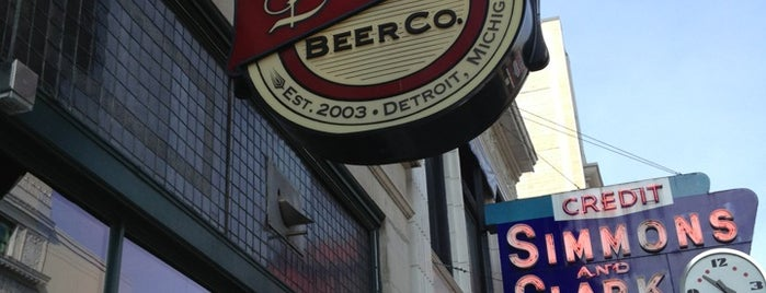 Detroit Beer Company is one of Detroit List #VisitUS.