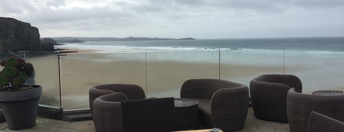Watergate Bay Hotel is one of 20 favorite restaurants.