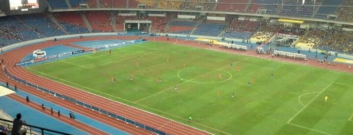 Stadium Nasional Bukit Jalil is one of Favorite Arts & Entertainment.