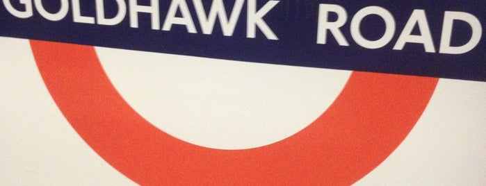 Goldhawk Road London Underground Station is one of Tube Challenge.