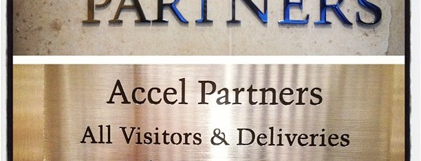 Accel Partners is one of Startups & Spaces NYC + CA.