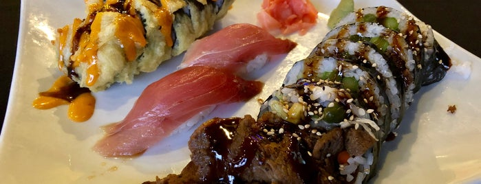 Hibashi Teppan Grill Sushi Bar is one of Place to eat.