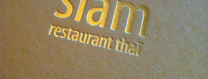 Siam Restaurant Thai is one of Go Back.