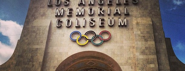 Los Angeles Memorial Coliseum is one of Favorite places.
