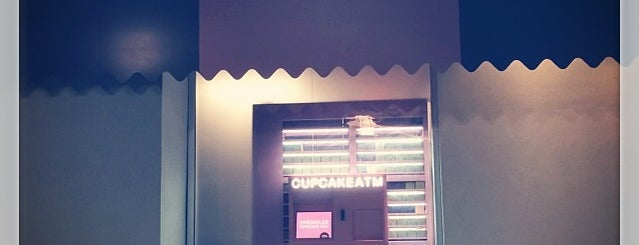 Sprinkles Cupcake ATM is one of Atlanta Open 24 Hours.
