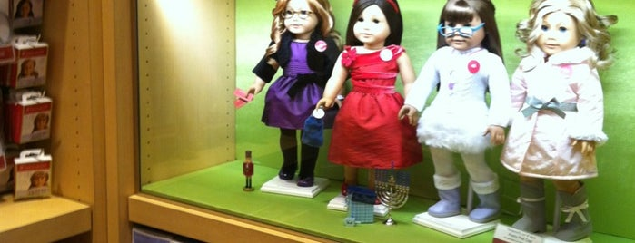 American Girl is one of Everywhere I've been in the Denver Metro.