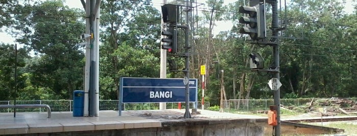 KTM Komuter Bangi (KB08) Station is one of Go Outdoor, MY #6.