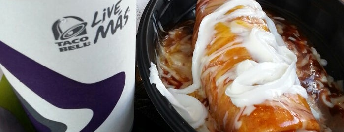 Taco Bell is one of My List.