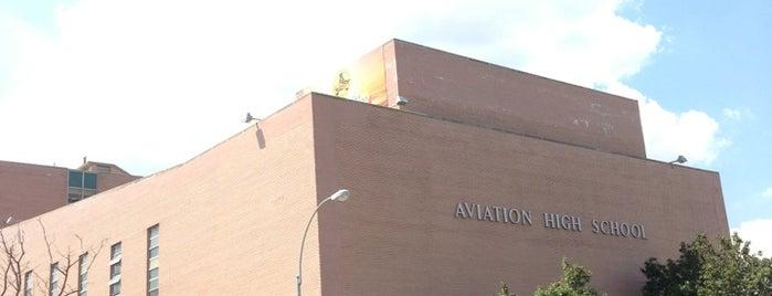 Aviation High School is one of NYC Hurricane Evacuation Centers.
