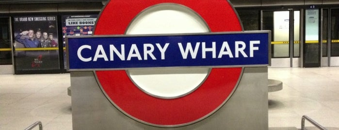 Canary Wharf London Underground Station is one of Rail stations.