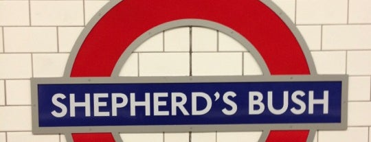 Shepherd's Bush London Underground Station is one of Underground.