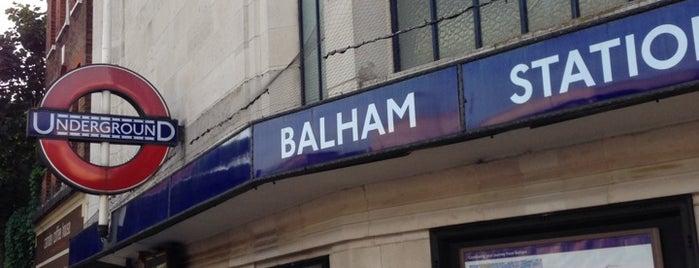 Balham London Underground Station is one of Tube Challenge.